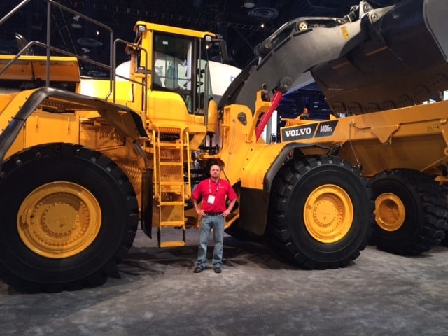 Volvo L350 Wheel Loader ConExpo Mike
