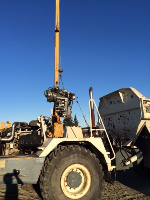 6wg310 ZF Transmission in a Terex TA-30 Articulated Haul Truck