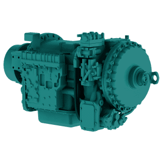 CL(B)T 5960 Remanufactured Allison Transmission